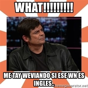 Gillespie Says No - what!!!!!!!!! me tay weviando si ese wn es ingles..