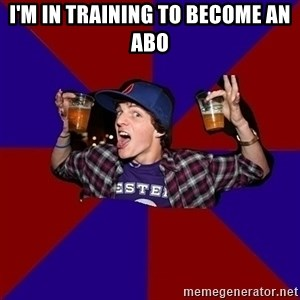 Sunny Student - i'm in training to become an abo