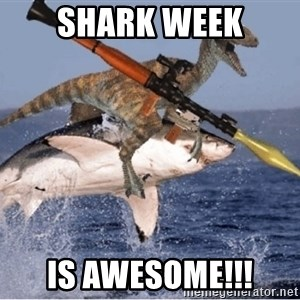 raptor shark - SHARK WEEK IS AWESOME!!!