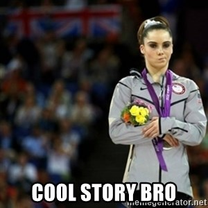 unimpressed McKayla Maroney 2 - COOL STORY BRO