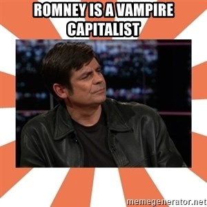 Gillespie Says No - Romney is a vampire capitalist