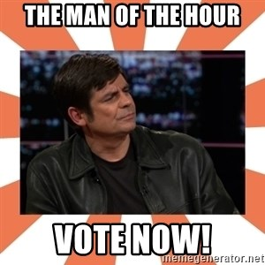 Gillespie Says No - The man of the hour Vote Now!