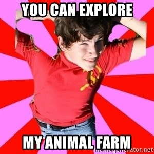 Model Immortal - You can explore my animal farm