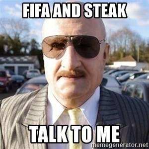 Terry Tibbs - FIFA AND STEAK Talk TO ME