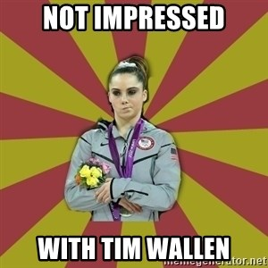Not Impressed Makayla - Not Impressed With Tim Wallen