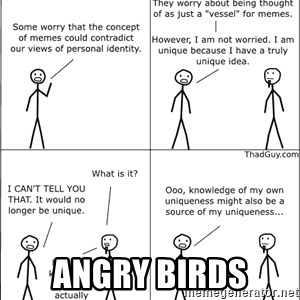 Memes - angry birds