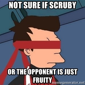 fryshi - Not sure if Scruby or the opponent is just Fruity