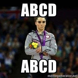 Unimpressed McKayla Maroney - abcd abcd