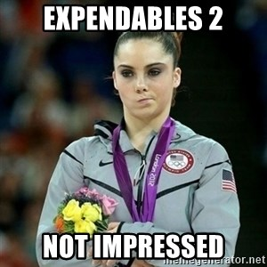 McKayla Maroney Not Impressed - expendables 2 not impressed