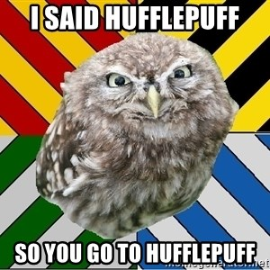 JEALOUS POTTEROMAN - I said Hufflepuff So you go to hufflepuff