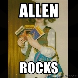 Gersberms Girl - allen  rocks