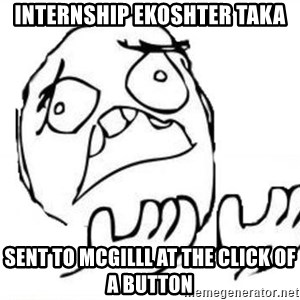 WHY SUFFERING GUY - internship ekoshter taka sent to mcgilll at the click of a button