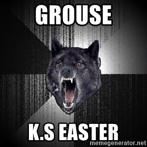 flniuydl - GROUSE K.S EASTER