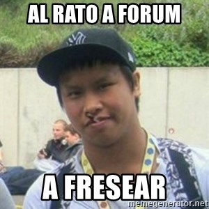 Good Guy Reginald - Al rato a forum a fresear