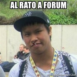 Good Guy Reginald - Al rato a forum