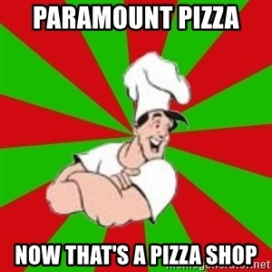 pizza31 - PARAMOUNT PIZZA  NOW THAT'S A PIZZA SHOP