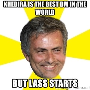 Mourinho - Khedira is the best DM in the world but lass starts