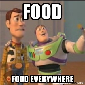 Buzz - Food food everywhere