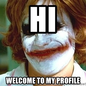 joker nurse - hi welcome to my profile