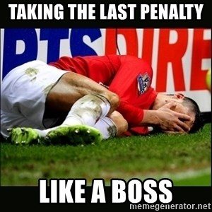 cristiano ronaldo crying - TAKING THE LAST PENALTY  LIKE A BOSS