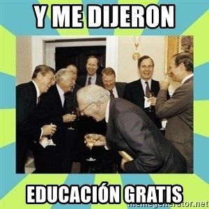 reagan white house laughing - Y ME DIJERON  EDUCACIÓN GRATIS