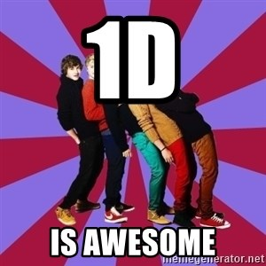 typical 1D - 1D IS AWESOME
