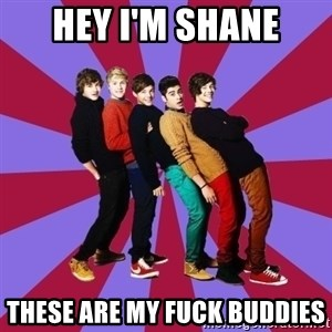 typical 1D - Hey i'm shane these are my fuck buddies