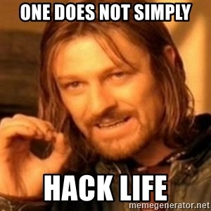 ODN - ONE DOES NOT SIMPLY HACK LIFE