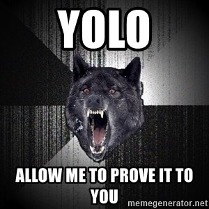 Insanity Wolf - YOLO ALLOW ME TO PROVE IT TO YOU