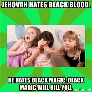CARO EMERALD, WALDECK AND MISS 600 - jehovah hates black blood. he hates black magic. black magic will kill you.