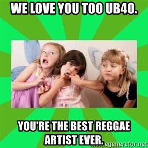 CARO EMERALD, WALDECK AND MISS 600 - WE LOVE YOU TOO UB40. YOU'RE THE BEST REGGAE ARTIST EVER.