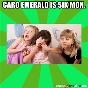 CARO EMERALD, WALDECK AND MISS 600 - caro emerald is sik mon.