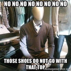 Trenderman - NO NO NO NO NO NO NO NO Those shoes do not go with that top