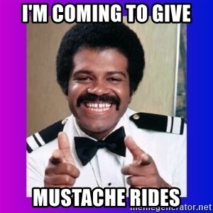 Love Boat Isaac - I'm coming to give mustache rides