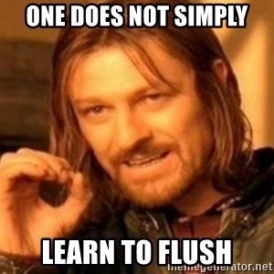 ODN - One does not simply Learn to flush