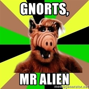 Alien Life Form  - GNORTS, Mr alien