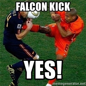 Netherlands - FALCON KICK YES!