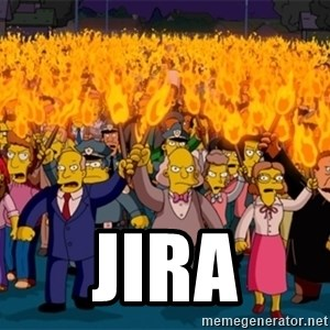 simpsons anger mob - JIRA