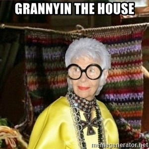 Granny-potterhad - GRANNYIN THE HOUSE