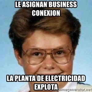 good luck larry hd - Le asignan business conexion LA PLANTA DE ELECTRICIDAD EXPLOTA