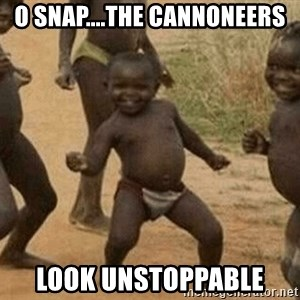 Success African Kid - O Snap....The Cannoneers look unstoppable