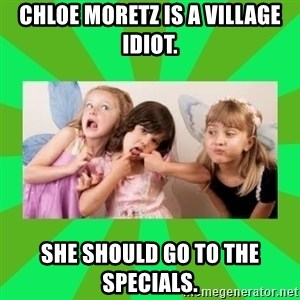 CARO EMERALD, WALDECK AND MISS 600 - chloe moretz is a village idiot. she should go to the specials.