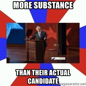 Invisible Obama - More substance than their actual candidate