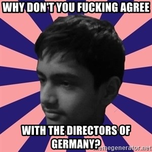 Los Moustachos - I would love to become X - why don't you fucking agree with the directors of germany?