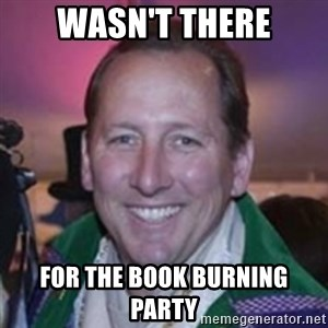 Pirate Textor - wasn't there for the book burning party