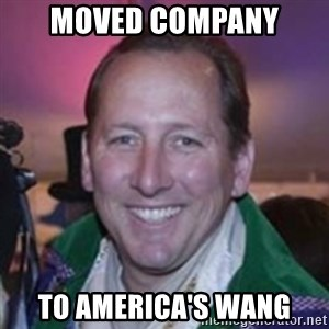 Pirate Textor - moved company to america's wang