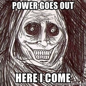 Shadowlurker - power goes out here i come