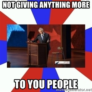 Invisible Obama - not giving anything more to you people