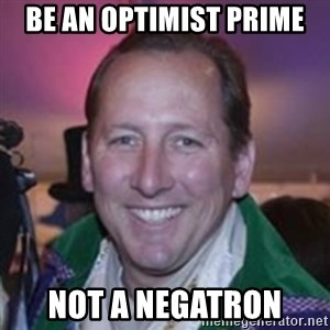 Pirate Textor - be an optimist prime not a negatron