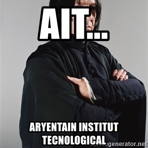 Snape - ait... aryentain institut tecnological